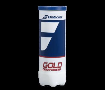 Babolat Gold Championship Tennis 3 Ball Can
