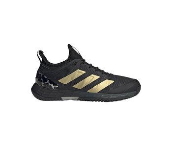 Adidas adizero Ubersonic 4 Black/Gold Women's Shoe