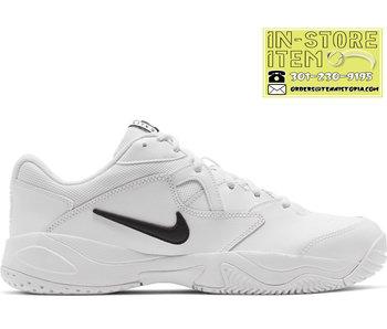 Nike Men's Court Lite 2 Tennis Shoes White/Black