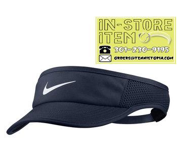 Nike Womens Featherlight Visor Navy