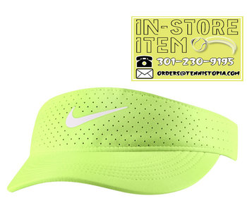 Nike W Nikecourt Advantage Visor Lime Glow