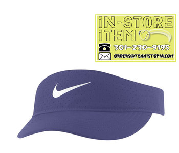 Nike W Nikecourt Advantage Visor Dark Purple Dust