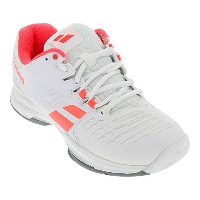 Babolat Tennis Shoes >> Babolat Sfx2 All Court White Pink Women S Shoes Tennis Topia