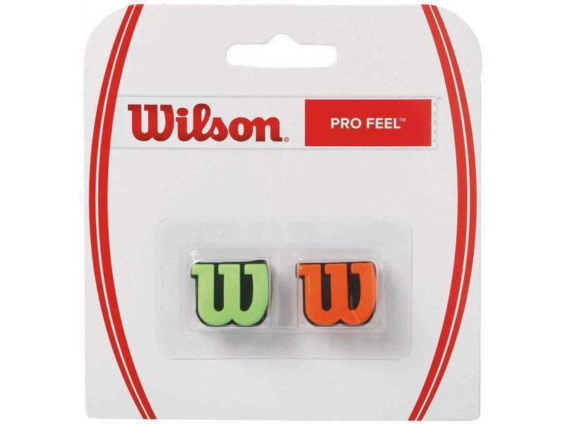 Wilson Pro Feel Dampener Pair Green & Orange