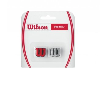 Wilson Pro Feel Dampener Pair Red & Silver
