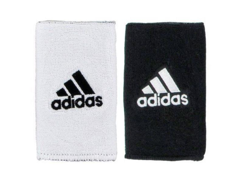 Adidas Interval Large Reversible Wristband White/Black