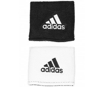 Adidas Interval Small Reversible Wristband Black/White