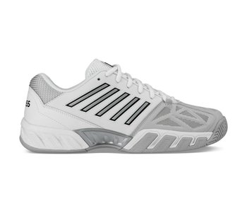 K-Swiss Bigshot Light 3 White/Silver Men's Tennis Shoes