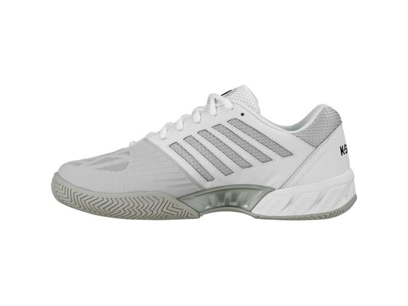 K-Swiss Bigshot Light 3 White/Silver Men's Tennis Shoes