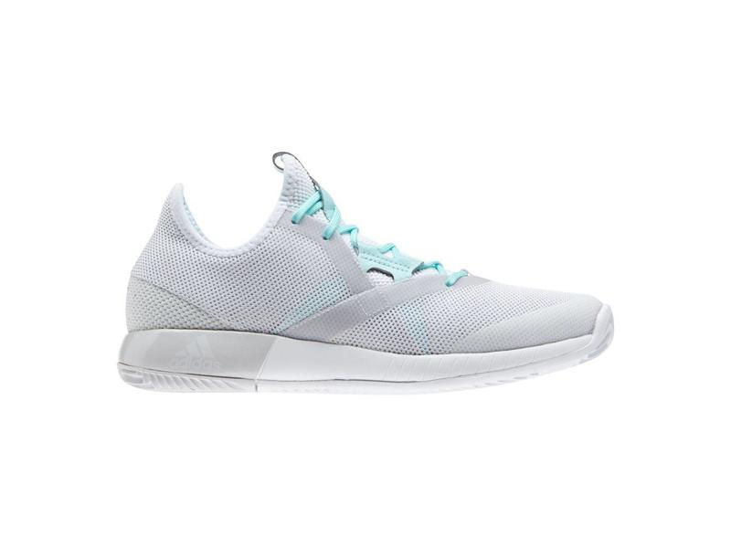 bb8be4ca2 Adizero Defiant Bounce White Grey Women s Shoes - Tennis Topia ...