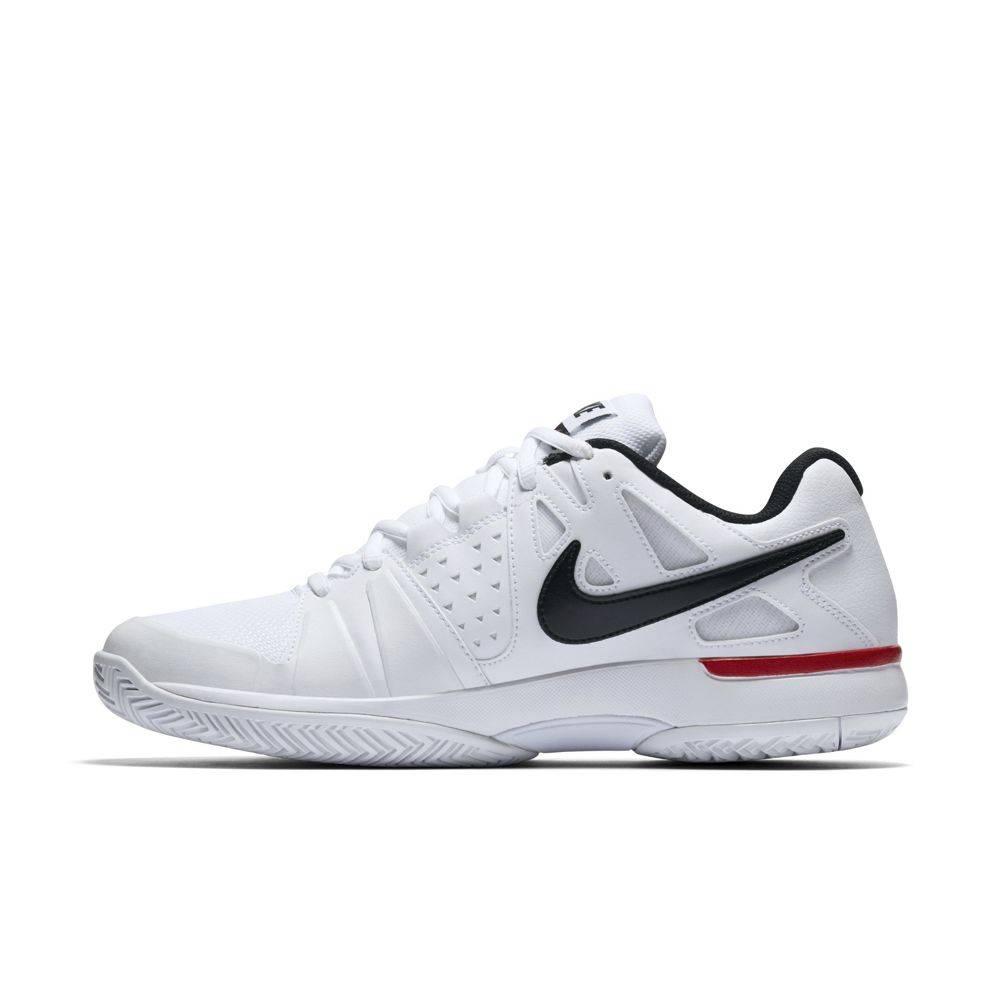pretty nice a4ccf ab2c4 ... Nike Air Vapor Advantage WhiteBlackRed Mens ...
