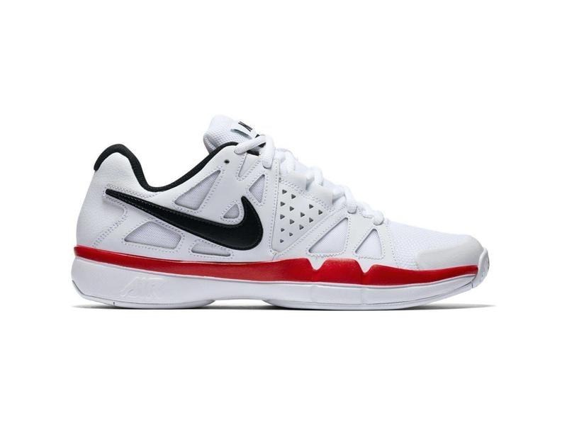 c69b1d1841fd6 Nike Air Vapor Advantage White Black Red Men s Shoe - Tennis Topia ...