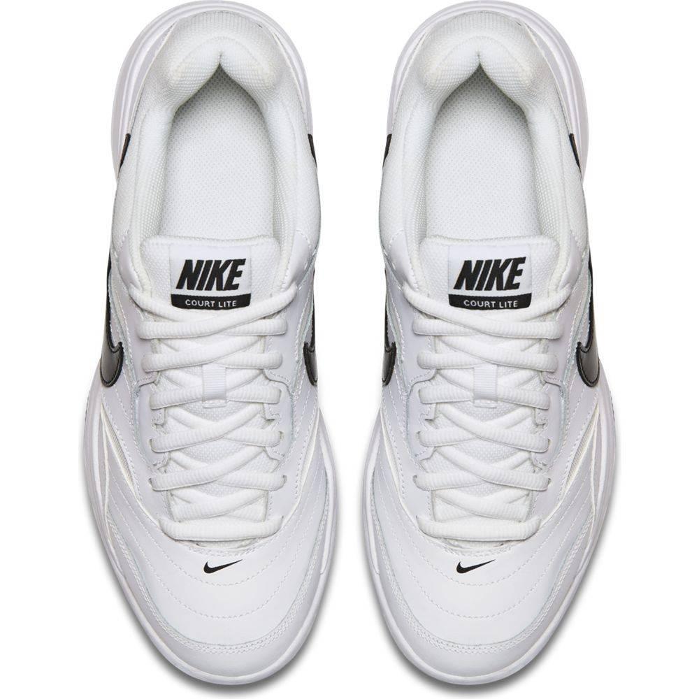 1e8f1fad Court Lite White/Grey/Black Men's Shoe