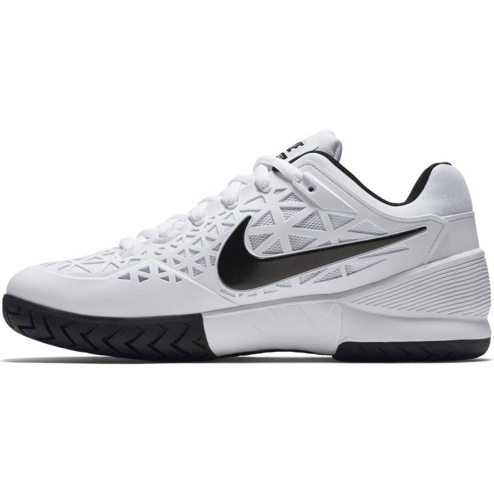 3b9fd24f3b9448 Nike Zoom Cage 2 White Black Men s Shoe ...