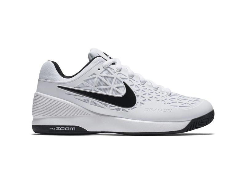0fe9525245632f Nike Zoom Cage 2 White Black Men s Shoe