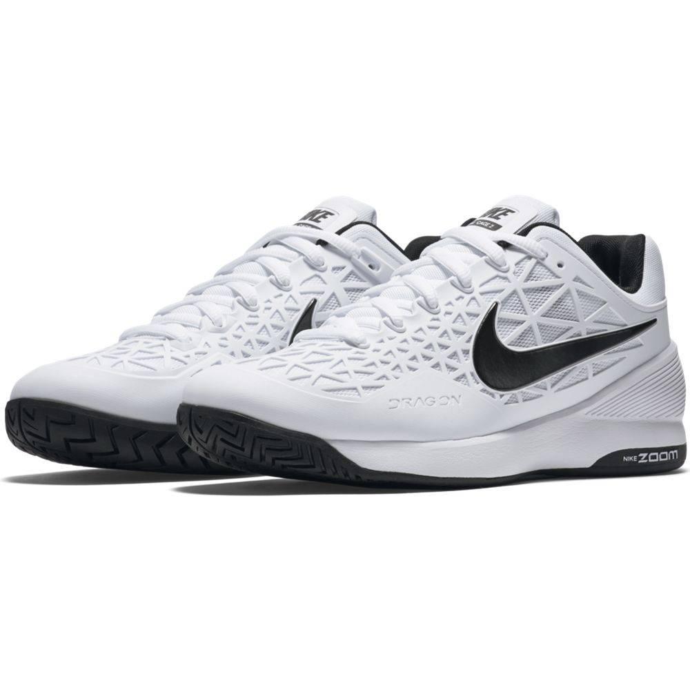 045d7a998dc4e Nike Zoom Cage 2 White Black Men s Shoe - Tennis Topia - Best Sale ...