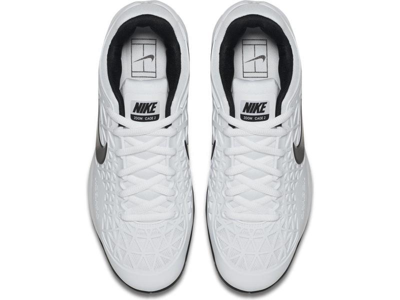 Nike Zoom Cage 2 White/Black Men's Shoe