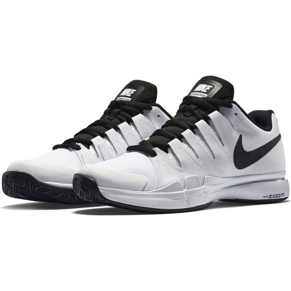 b1d37c3e60627 Nike Zoom Vapor 9.5 Tour White Black Men s Shoe - Tennis Topia ...