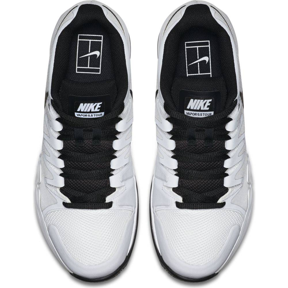 sports shoes 9ea46 a239e ... Nike Zoom Vapor 9.5 Tour White Black Men s Shoe ...