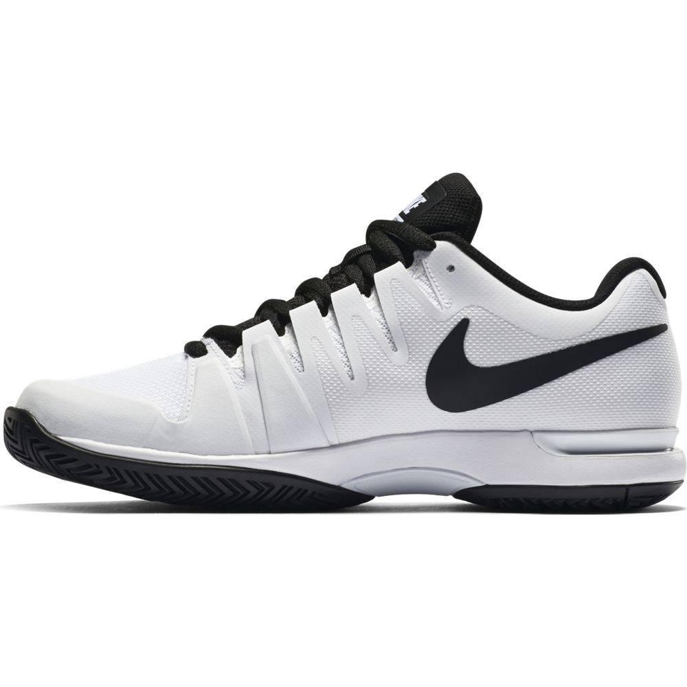 102ce8518269 Nike Zoom Vapor 9.5 Tour White Black Men s Shoe - Tennis Topia ...