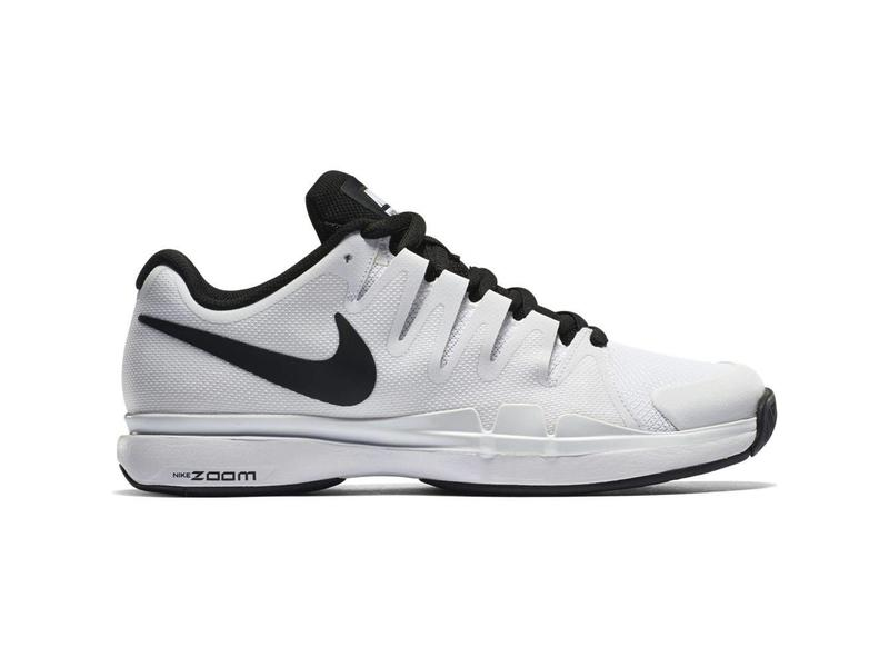 3a19b3dd5267f Nike Zoom Vapor 9.5 Tour White Black Men s Shoe - Tennis Topia ...