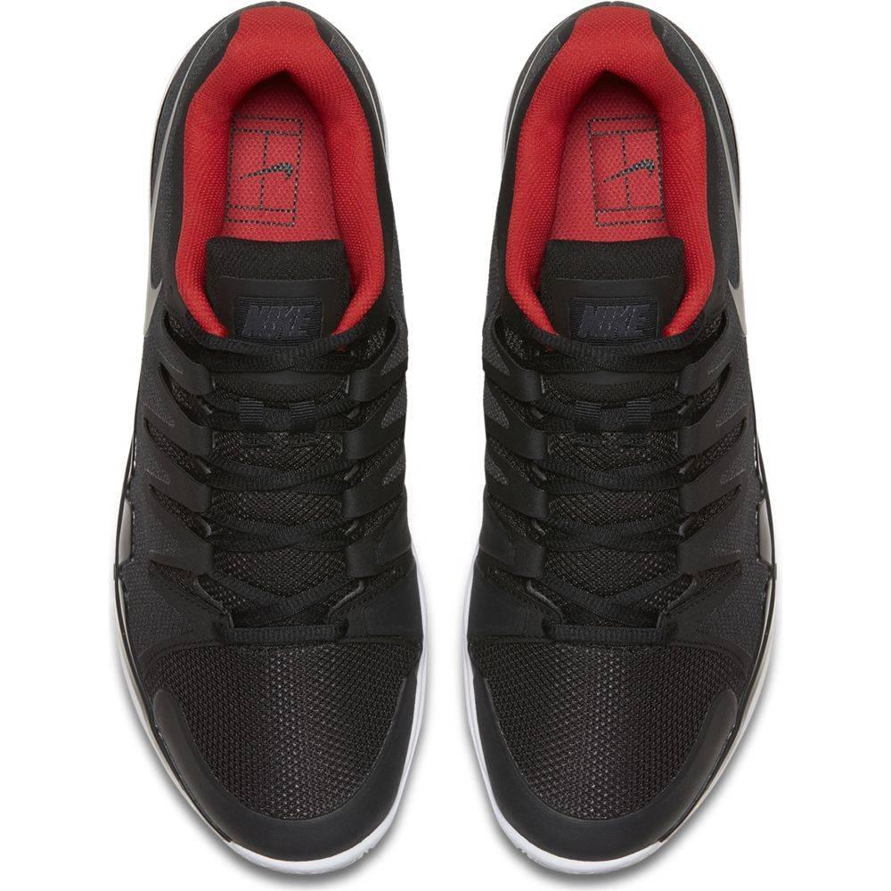 ca2e959250c9e Nike Zoom Vapor 9.5 Tour Black Red Men s Shoe - Tennis Topia - Best ...