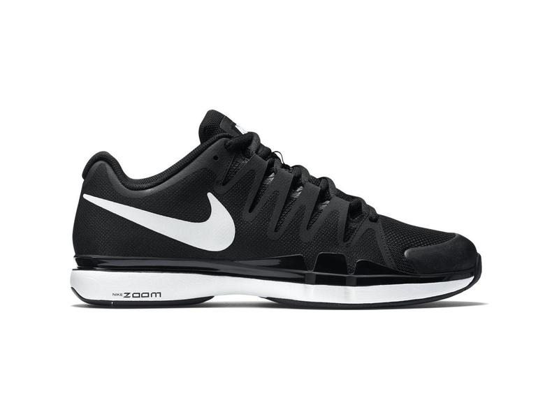 5b00395a9f9d4 Nike Zoom Vapor 9.5 Tour Black White Men s Shoe - Tennis Topia ...