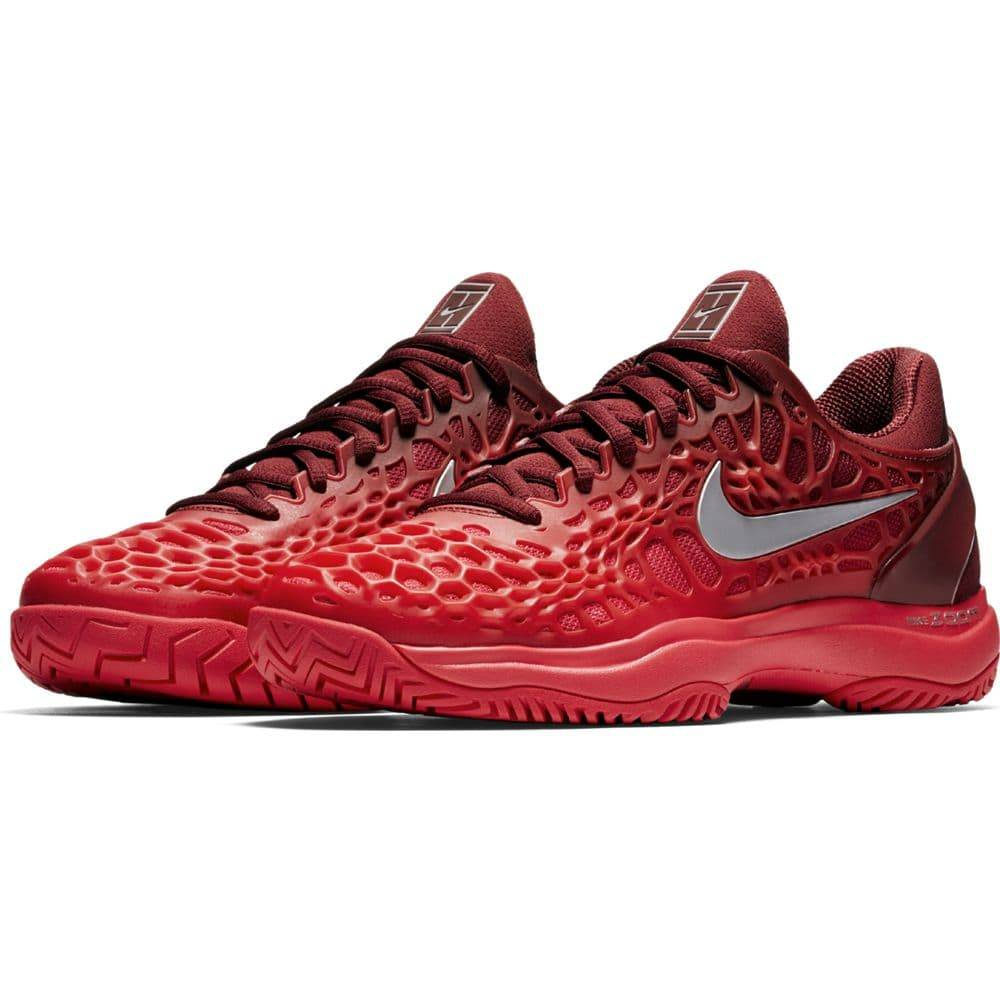 f61a8b377df4 Nike Zoom Cage 3 HC Red Silver Red Women s - Tennis Topia - Best ...