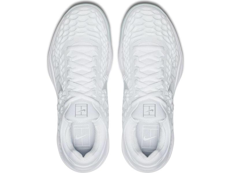 Nike Zoom Cage 3 White/Metallic Silver Women's Shoe