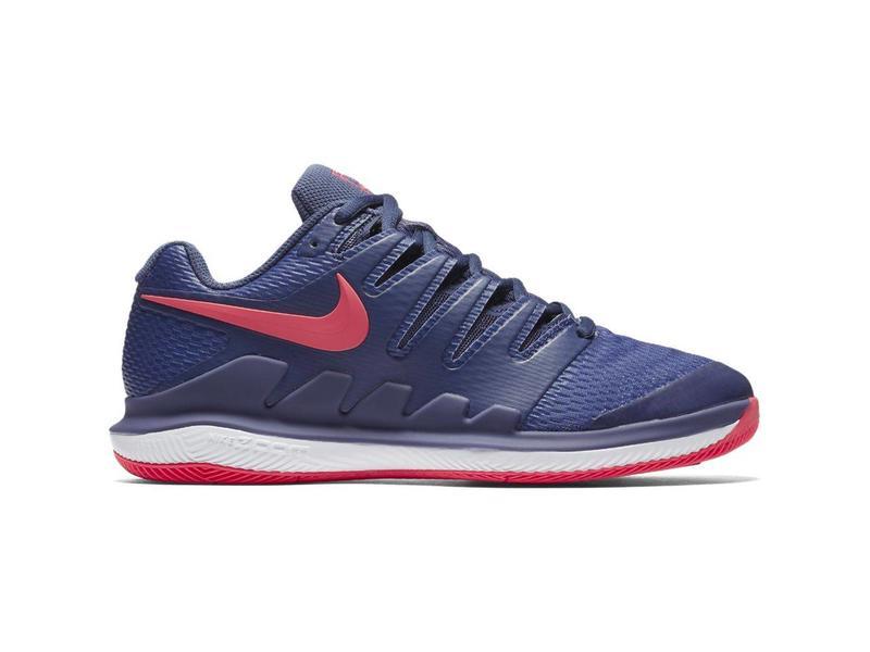 0502e1b39b35b Nike Zoom Vapor X HC Blue Recall Pink Women s Shoe - Tennis Topia ...