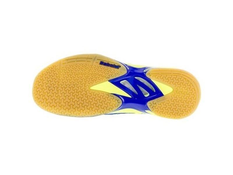 Babolat Shadow Spirit  Indoor Tennis Shoes Blue/Yellow Men's