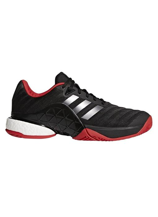 72c7ca833669 Adidas Barricade 2018 Boost Black Red. Sale
