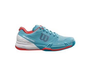 Wilson Rush Pro 2.5 Blue/White/Orange Women's Shoe