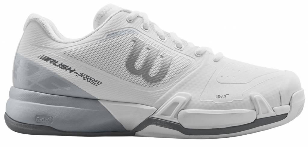 97e123388a07 Wilson Rush Pro 2.5 Men s White Tennis Shoe - Tennis Topia - Best ...