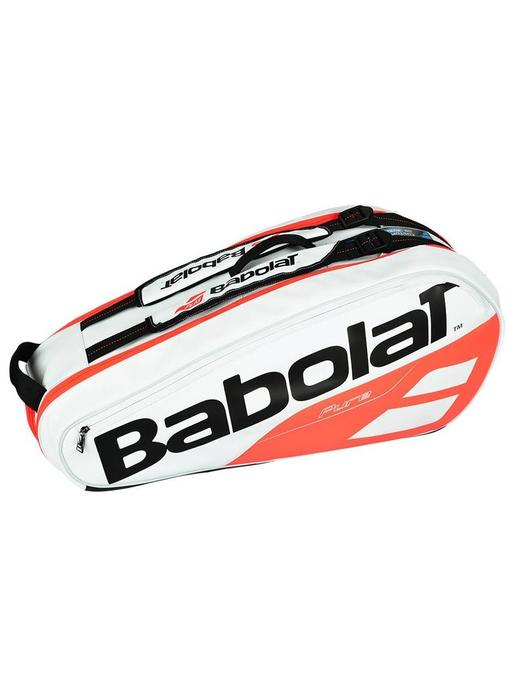 Babolat Pure Strike White/Red 6 Pack Bag 2018