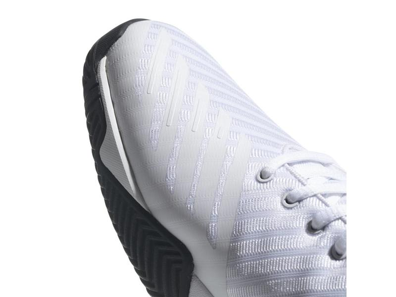 release date 29f47 ea99e ... Shoe Adidas Barricade Court 3 Wide WhiteSilver Mens ...