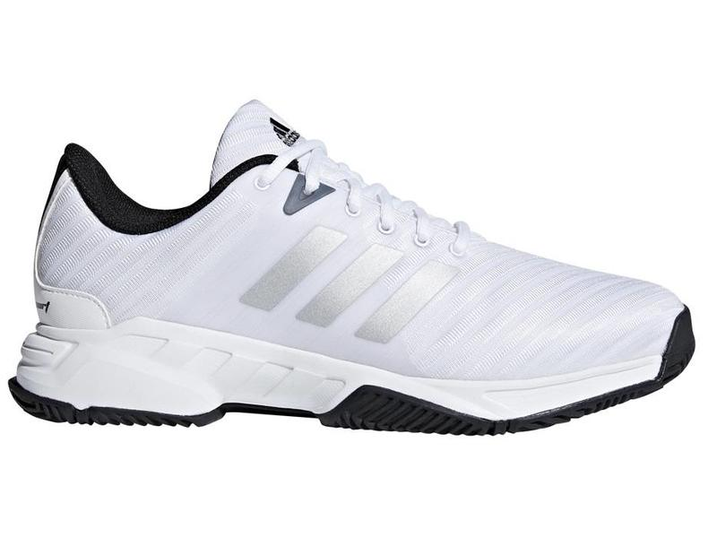 Barricade Court 3 Wide WhiteSilver Men's Shoe