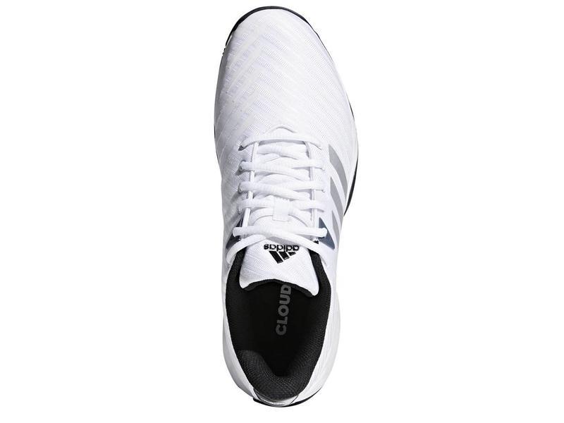 Adidas Barricade Court 3 Wide White/Silver Men's Shoe
