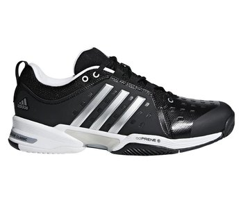 Adidas Barricade Classic Wide (4E) Black/Silver Men's Shoe