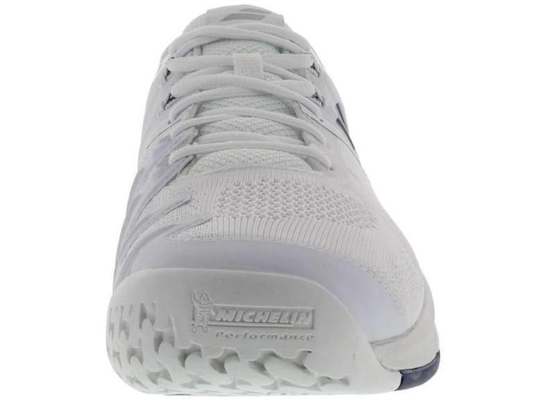 Babolat Propulse Blast White/Navy Blue Men's Shoe
