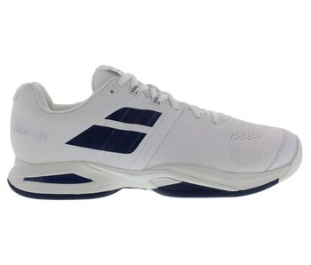Babolat Propulse Blast White/Navy Blue Men's Shoe