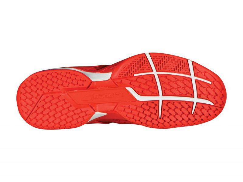 Babolat Propulse Fury AC Red/Blue/White Men's Shoe