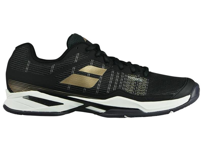 Babolat Jet Mach l Black/White/Champagne Men's Shoe