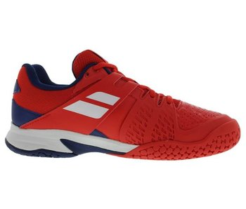 Babolat Propulse Fury Red/Blue Jr Shoes
