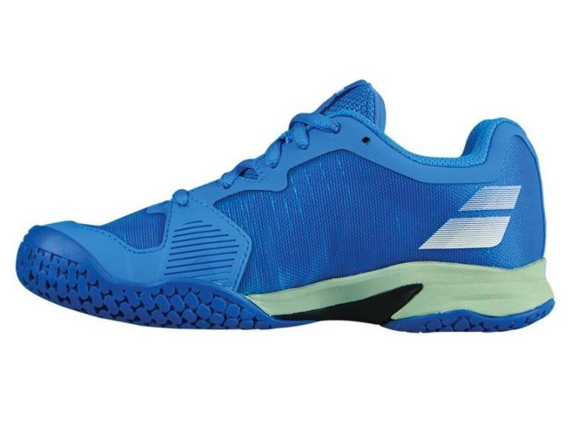 Babolat Jet All Court Blue/White Junior Shoes