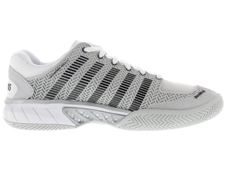 K-Swiss Hypercourt Express Grey/Silver Men's Tennis Shoe