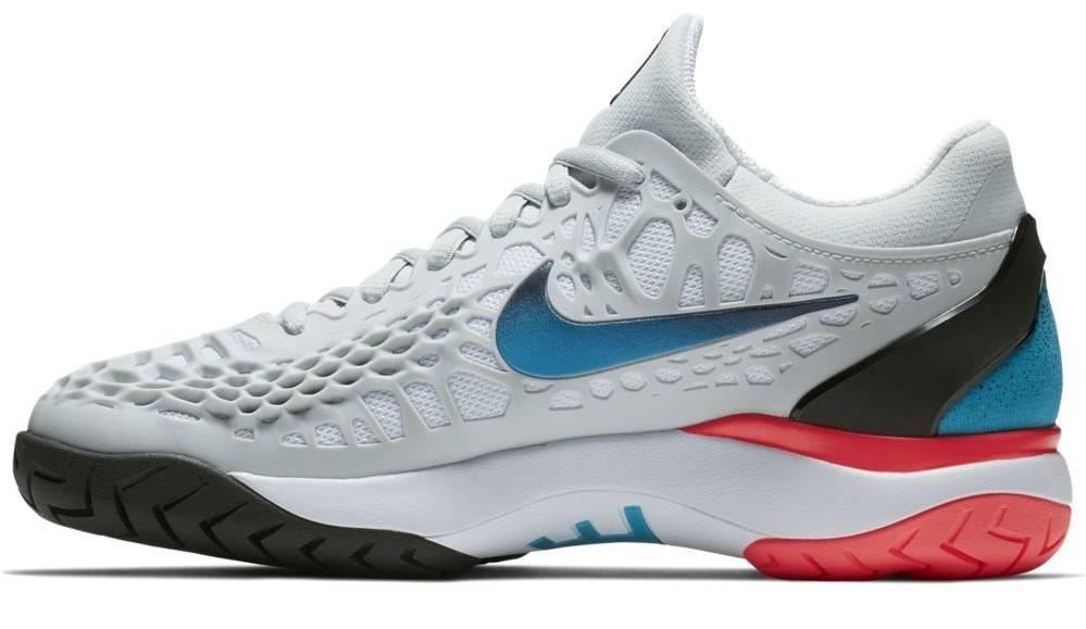 27a04a4875d824 Nike Zoom Cage 3 HC Platinum Blue Women s Shoe - Tennis Topia - Best ...