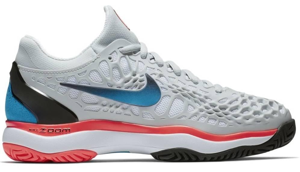 c69540515726c Nike Zoom Cage 3 HC Platinum Blue Women s Shoe - Tennis Topia - Best ...