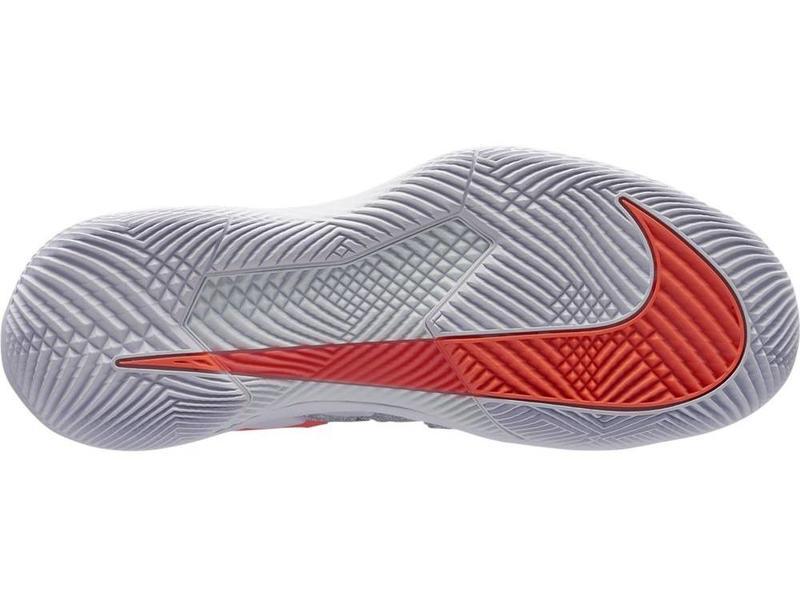 Nike Zoom Vapor X HC Grey/Lava/Blue Women's Shoe