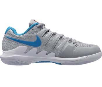 Nike Zoom Vapor X HC Grey/Lava/Blue Women's Shoe